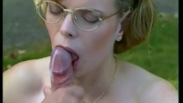 Hirsute wet crack nerdy hotty with glasses stuffed retro